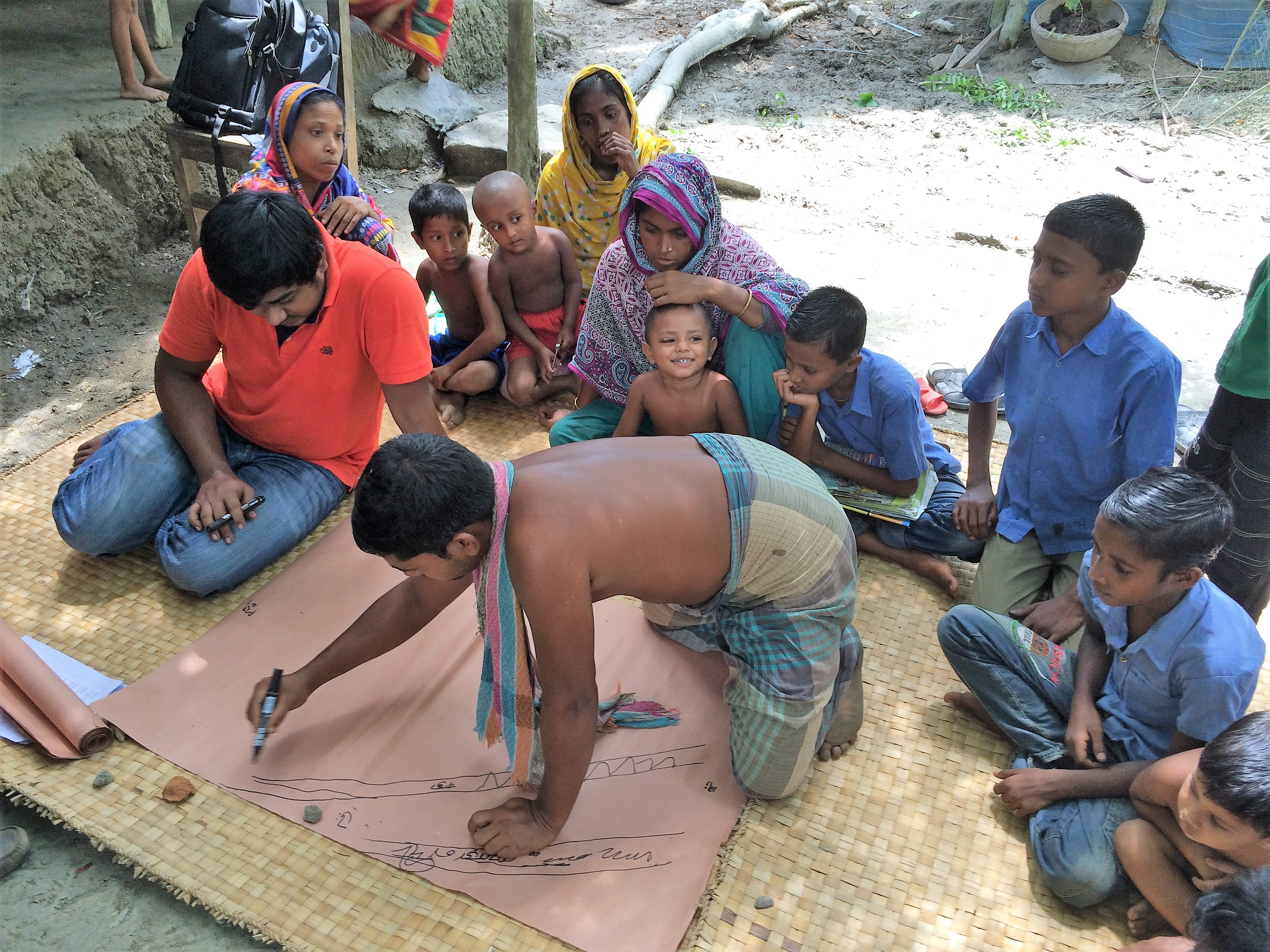 Rapid ethnographic study with community members in Barisal